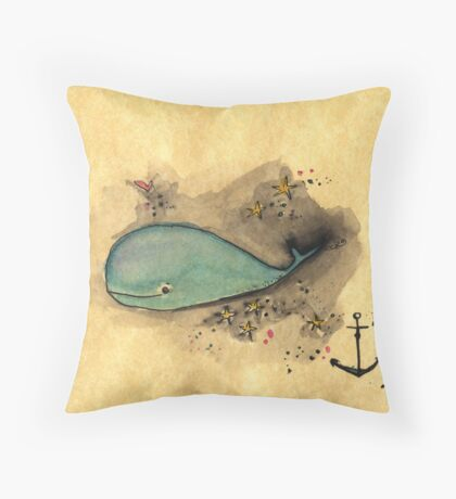 Spouting Love in the day Throw Pillow