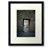 Serial rooms, Pueblo Bonito Framed Print