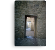 Serial rooms, Pueblo Bonito Metal Print