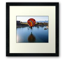 Balloon Reflection Framed Print