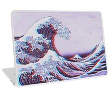 The great wave off kanagawa 3D Laptop Skin