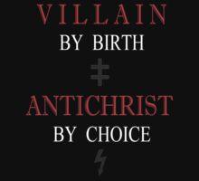 Born Villain  T-Shirt
