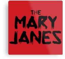 The Mary Janes Metal Print
