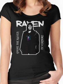 ECW Raven T - Shirt Women's Fitted Scoop T-Shirt
