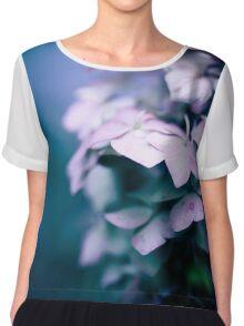 Passionate Hydrangea Chiffon Top
