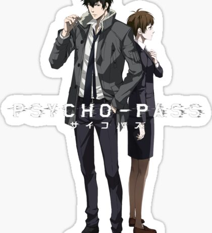 Psycho Pass Sticker
