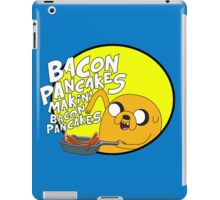 adventure time bacon pancakes iPad Case/Skin