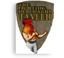 The Fighting McDonaghs Tavern Canvas Print