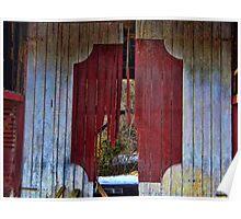 Broken Barn Door Poster