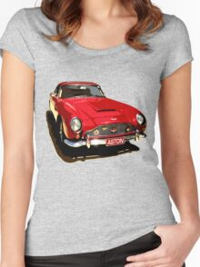 Aston Martin DB5 1964 Women's Fitted Scoop T-Shirt