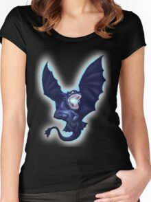 Lightning and Death Women's Fitted Scoop T-Shirt