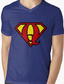 Super QGIS Mens V-Neck T-Shirt