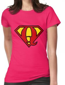Super QGIS Womens Fitted T-Shirt