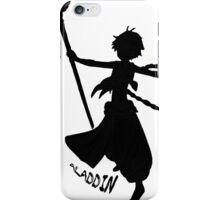 Aladdin Silhouette w/name iPhone Case/Skin