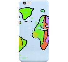 You add color to this planet! iPhone Case/Skin