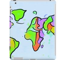 You add color to this planet! iPad Case/Skin