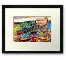 Classical Grass Framed Print
