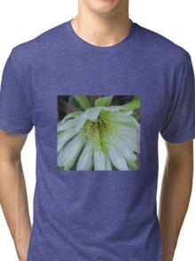 Peruvian apple cactus flower Tri-blend T-Shirt