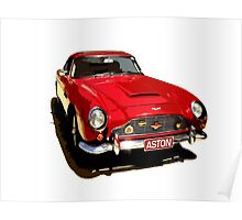 Aston Martin DB5 1964 Poster