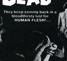 Night Of The Living Dead Sticker