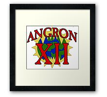 Angron - Sport Jersey Style Framed Print