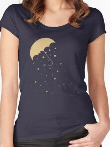 Starry Rains Women's Fitted Scoop T-Shirt