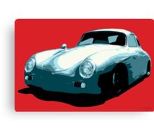 Porsche 356 pop art Canvas Print