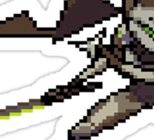 OverWatch Genji pixel spray Sticker