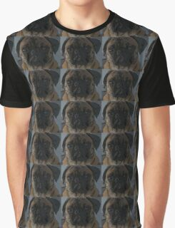 Daisy The Pug Painting  Graphic T-Shirt