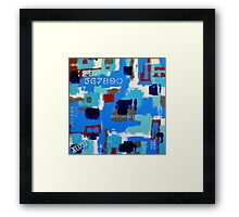 """Hidden Harbours"" Framed Print"
