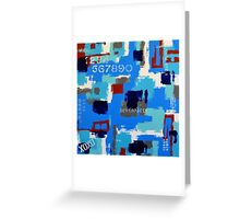 """Hidden Harbours"" Greeting Card"