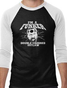"ECW Terry Funk ""I'm a Funker T shirt"" White Men's Baseball ¾ T-Shirt"