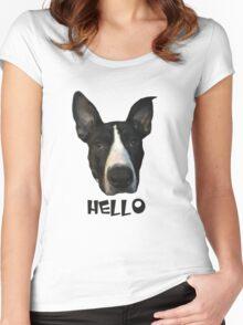 Zucc - Hello Women's Fitted Scoop T-Shirt