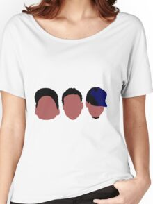 Chance The Rapper Mixtape Faces Women's Relaxed Fit T-Shirt