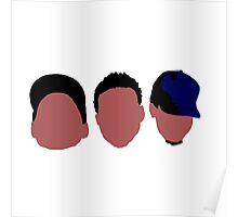 Chance The Rapper Mixtape Faces Poster