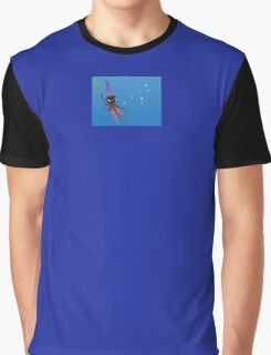 """""""Squizard"""" with bubbles - small design Graphic T-Shirt"""