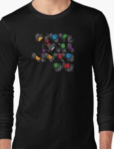 Vinyl will never die Long Sleeve T-Shirt