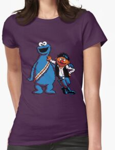 Scruffy Looking Smuggers Womens Fitted T-Shirt