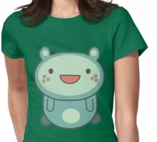 Cute Cartoon Anime Animal Womens Fitted T-Shirt