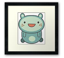 Cute Cartoon Anime Animal Framed Print