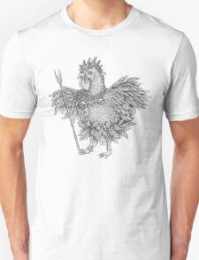 Tribal Shaman Rooster Unisex T-Shirt