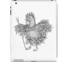 Tribal Shaman Rooster iPad Case/Skin