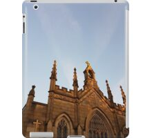 church at dusk iPad Case/Skin