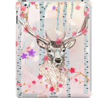 The deer in the forest iPad Case/Skin
