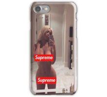 Supreme Kim Kardashian iPhone Case/Skin