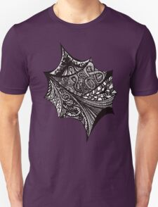 Black & White graphic abstract pattern T-Shirt