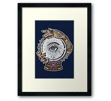 ESOTERIC TEE - CLAIRVOYANCE Framed Print