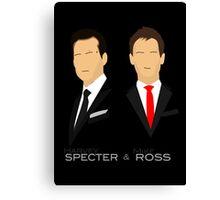 Suits - Harvey & Mike Canvas Print