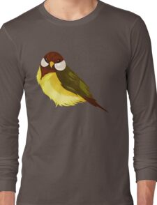 Small Cute Exotic Bird Species Long Sleeve T-Shirt