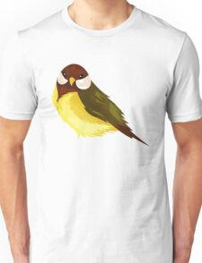 Small Cute Exotic Bird Species Unisex T-Shirt